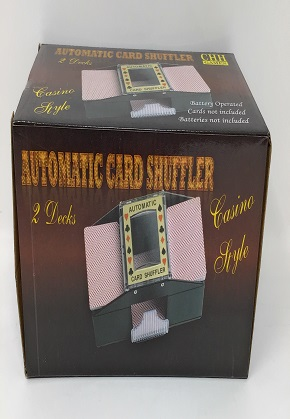 Automatic 2 Deck Shuffler
