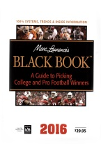 MARC LAWRENCES BLACK BOOK: A GUIDE TO PICKING COLLEGE AND PRO FOOTBALL WINNERS sports betting , football, handicapping, sports betting