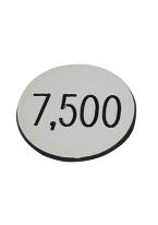 1.25 INCH WHITE 7500