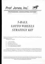 5-BALL LOTTO WHEELS STRATEGY KIT