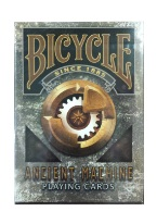 Bicycle Ancient Machine Plastic playing cards, plastic poker playing cards, low vision cards, large print cards, jumbo index cards, paper cards, professional poker cards, used casino cards, Tally Ho cards, Tally Ho Viper cards, used Strip casino cards, Kem cards, Kem poker cards, Kem bridge cards, Kem jumbo cards, Kem standard index cards, Kem narrow jumbo cards, Kem Jacquard playing cards, bicycle cards, Theory 11 cards, Ellusionist playing cards, fantasy playing cards, nature playing cards, Copag plastic cards, poker cards, bridge cards, casino cards, playing cards, collector cards, tarot cards, magic cards, sports cards, Bee playing cards, Congress cards, Aviator playing cards, collectible card tins, Marilyn Monroe playing cards, Elvis playing cards, magician c
