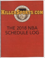 KILLERSPORTS.COM 2018-2019 NBA SCHEDULE/LOG