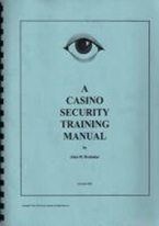 A CASINO SECURITY TRAINING MANUAL