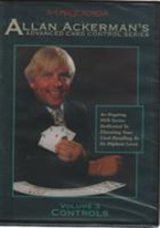 ACKERMAN ON CARD CONTROL: VOL 3 - DVD