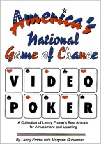 AMERICAS NATIONAL GAME OF CHANCE VIDEO POKER
