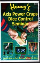 AXIS POWER CRAPS DICE CONTROL SEMINAR & AUDIO CD