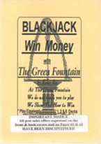 BLACKJACK: WIN MONEY WITH GREEN FOUNTAIN