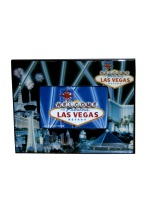 BLUE FIREWORK VEGAS PHOTO FRAME old vegas, photo frame, frame, photo, souvenirs, gamblers,