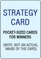 DON SCHLESINGERS BLACKJACK STRATEGY CARD: MULTIPLE DECK