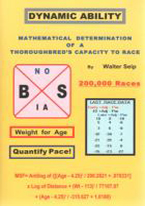 DYNAMIC ABILITY: MATHEMATICAL DETERMINATION OF THOROUGHBRED