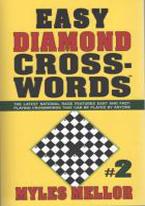 EASY DIAMOND CROSSWORDS #2