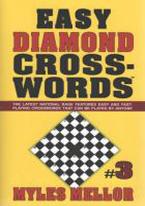 EASY DIAMOND CROSSWORDS #3