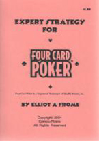 EXPERT STRATEGY FOR FOUR CARD POKER