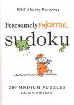 FEARSOMELY FRIGHTFUL SUDOKU 200 MEDIUM PUZZLES