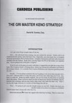 GRI MASTER KENO STRATEGY