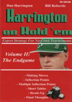 HARRINGTON ON HOLDEM II: THE ENDGAME