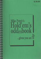 HOLDEMS ODD(S) BOOK...GIVES YOU AN EDGE