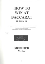 HOW TO WIN AT BACCARAT Baccarat book review, best baccarat book, best-selling baccarat books, card counting at baccarat, books on baccarat, how to play baccarat, how to win at baccarat, baccarat books, used baccarat books, discounted baccarat books, baccarat books on sale, online baccarat, Internet baccarat strategy, making money at online baccarat, how to beat mini-baccarat, baccarat cash games, baccarat rules, baccarat strategy chart, winning baccarat strategy, advanced baccarat strategy, best book on baccarat strategy, baccarat ebooks and audio books, winning secrets, money management, easy winning strategies, baccarat glossary, player and bank rules, punto banco, baccarat card counting, chemin de fer.
