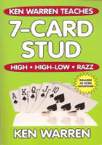 KEN WARREN TEACHES 7-CARD STUD: HIGH, HIGH LOW, RAZZ