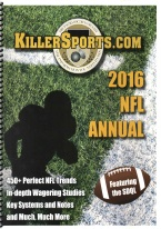 KILLERSPORTS 2017 JOURNAL OF NFL AND NCAA FOOTBALL RESEARCH