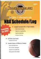 KILLERSPORTS.COM 2017-2018 NBA SCHEDULE/LOG