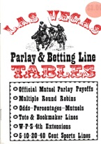 LAS VEGAS PARLAY & BETTING LINE TABLES