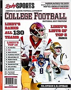 LINDYS 2018 COLLEGE FOOTBALL PREVIEW Football, handicapping