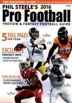 PHIL STEELES 2018 PRO FOOTBALL PREVIEW & FANTASY FOOTBALL Football, Magizines