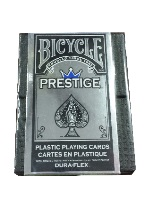 BICYCLE PRESTIGE BLUE DECK