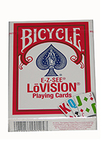 LOW VISION POKER Red