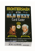 FRONTIERSMEN OF THE OLD WEST CARD GAME Plastic playing cards, plastic poker playing cards, low vision cards, large print cards, jumbo index cards, paper cards, professional poker cards, used casino cards, Tally Ho cards, Tally Ho Viper cards, used Strip casino cards, Kem cards, Kem poker cards, Kem bridge cards, Kem jumbo cards, Kem standard index cards, Kem narrow jumbo cards, Kem Jacquard playing cards, bicycle cards, Theory 11 cards, Ellusionist playing cards, fantasy playing cards, nature playing cards, Copag plastic cards, poker cards, bridge cards, casino cards, playing cards, collector cards, tarot cards, magic cards, sports cards, Bee playing cards, Congress cards, Aviator playing cards, collectible card tins, Marilyn Monroe playing cards, Elvis playing cards, magician c