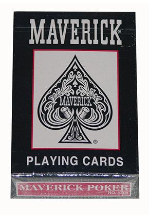 MAVERICK POKER/PINOCHLE Red