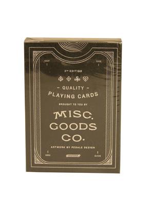 MISC GOODS CO. Black