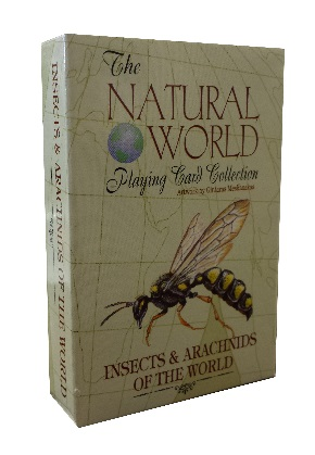 Natural world playing card collection