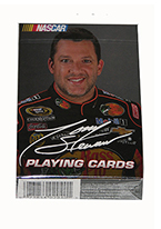 TONY STEWART Plastic playing cards, plastic poker playing cards, low vision cards, large print cards, jumbo index cards, paper cards, professional poker cards, used casino cards, Tally Ho cards, Tally Ho Viper cards, used Strip casino cards, Kem cards, Kem poker cards, Kem bridge cards, Kem jumbo cards, Kem standard index cards, Kem narrow jumbo cards, Kem Jacquard playing cards, bicycle cards, Theory 11 cards, Ellusionist playing cards, fantasy playing cards, nature playing cards, Copag plastic cards, poker cards, bridge cards, casino cards, playing cards, collector cards, tarot cards, magic cards, sports cards, Bee playing cards, Congress cards, Aviator playing cards, collectible card tins, Marilyn Monroe playing cards, Elvis playing cards, magician c