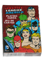 JUSTICE LEAGUE RETRO Plastic playing cards, plastic poker playing cards, low vision cards, large print cards, jumbo index cards, paper cards, professional poker cards, used casino cards, Tally Ho cards, Tally Ho Viper cards, used Strip casino cards, Kem cards, Kem poker cards, Kem bridge cards, Kem jumbo cards, Kem standard index cards, Kem narrow jumbo cards, Kem Jacquard playing cards, bicycle cards, Theory 11 cards, Ellusionist playing cards, fantasy playing cards, nature playing cards, Copag plastic cards, poker cards, bridge cards, casino cards, playing cards, collector cards, tarot cards, magic cards, sports cards, Bee playing cards, Congress cards, Aviator playing cards, collectible card tins, Marilyn Monroe playing cards, Elvis playing cards, magician c