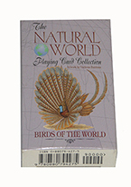 NATURAL WORLD BIRDS CARDS Plastic playing cards, plastic poker playing cards, low vision cards, large print cards, jumbo index cards, paper cards, professional poker cards, used casino cards, Tally Ho cards, Tally Ho Viper cards, used Strip casino cards, Kem cards, Kem poker cards, Kem bridge cards, Kem jumbo cards, Kem standard index cards, Kem narrow jumbo cards, Kem Jacquard playing cards, bicycle cards, Theory 11 cards, Ellusionist playing cards, fantasy playing cards, nature playing cards, Copag plastic cards, poker cards, bridge cards, casino cards, playing cards, collector cards, tarot cards, magic cards, sports cards, Bee playing cards, Congress cards, Aviator playing cards, collectible card tins, Marilyn Monroe playing cards, Elvis playing cards, magician c