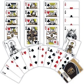 VEGAS GOLDEN KNIGHTS PLAYING CARDS - 81849