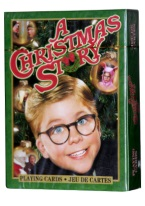 A CHRISTMAS STORY CARDS a christmas story, christmas, classic, movies, playing cards, gift,