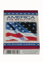 America The Beautiful   Plastic playing cards, plastic poker playing cards, low vision cards, large print cards, jumbo index cards, paper cards, professional poker cards, used casino cards, Tally Ho cards, Tally Ho Viper cards, used Strip casino cards, Kem cards, Kem poker cards, Kem bridge cards, Kem jumbo cards, Kem standard index cards, Kem narrow jumbo cards, Kem Jacquard playing cards, bicycle cards, Theory 11 cards, Ellusionist playing cards, fantasy playing cards, nature playing cards, Copag plastic cards, poker cards, bridge cards, casino cards, playing cards, collector cards, tarot cards, magic cards, sports cards, Bee playing cards, Congress cards, Aviator playing cards, collectible card tins, Marilyn Monroe playing cards, Elvis playing cards, magician c