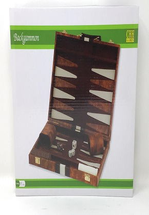 Backgammon brown/white