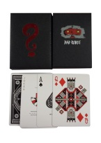 BLACK MYSTERY BOX Playing Cards, thoery 11, magic cards, mystery cards