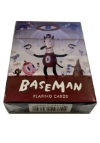 BASEMAN playing cards, art, artist, contemporary, baseman, gary baseman, gary, dark horse, Ahwroo, ChouChou, HotChaChaCha, Toby