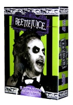 BEETLEJUICE Plastic playing cards, plastic poker playing cards, low vision cards, large print cards, jumbo index cards, paper cards, professional poker cards, used casino cards, Tally Ho cards, Tally Ho Viper cards, used Strip casino cards, Kem cards, Kem poker cards, Kem bridge cards, Kem jumbo cards, Kem standard index cards, Kem narrow jumbo cards, Kem Jacquard playing cards, bicycle cards, Theory 11 cards, Ellusionist playing cards, fantasy playing cards, nature playing cards, Copag plastic cards, poker cards, bridge cards, casino cards, playing cards, collector cards, tarot cards, magic cards, sports cards, Bee playing cards, Congress cards, Aviator playing cards, collectible card tins, Marilyn Monroe playing cards, Elvis playing cards, magician c