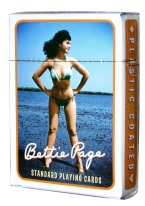 BETTIE PAGE BATHING SUIT bettie page, cards, sexy, girly, pin up