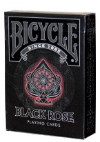 BICYCLE BLACK ROSE black rose