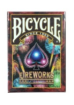 Firework - Bicycle ellusionist, magic cards,, bicycle cards, USPC