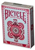 BICYCLE MARINER red, bicycle, mariner, playing cards