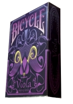 Bicycle Viola Bicycle, viola, bicycle viola, playing cards, cards, united states playing card company, purple, purple playing cards