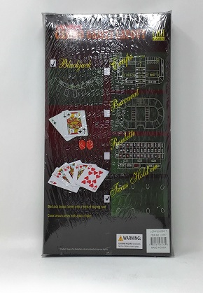 Blackjack/Texas Hold'em felt layout